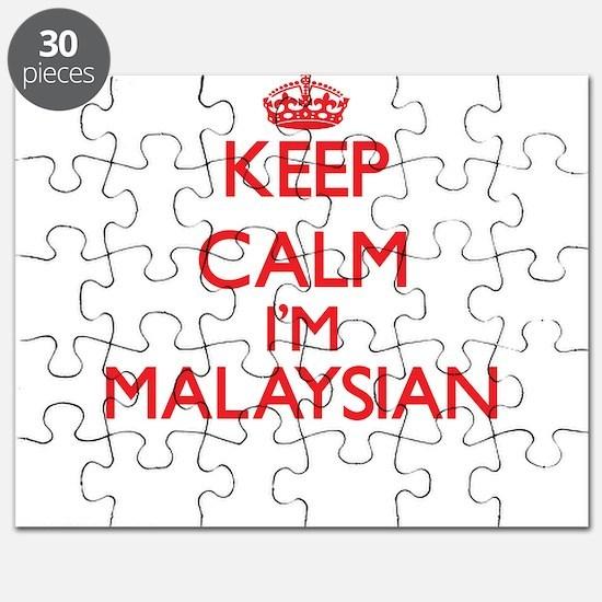 Keep Calm I'm Malaysian Puzzle