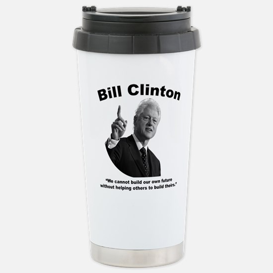 Clinton: Build Stainless Steel Travel Mug