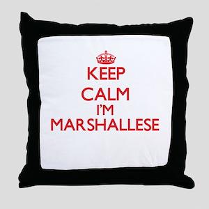 Keep Calm I'm Marshallese Throw Pillow
