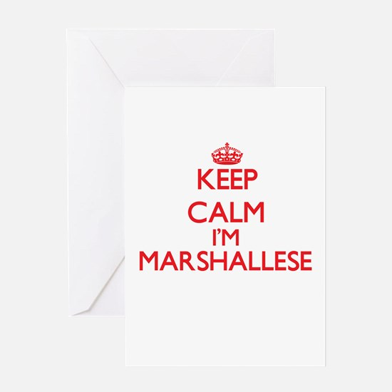 Keep Calm I'm Marshallese Greeting Cards