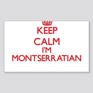 Keep Calm I'm Montserratian Sticker