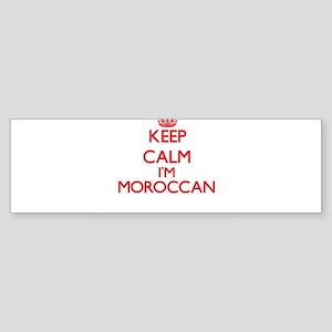 Keep Calm I'm Moroccan Bumper Sticker
