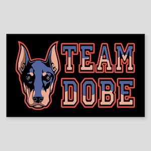 Team Dobe Sticker (Rectangle)