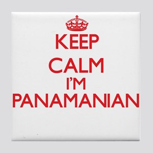 Keep Calm I'm Panamanian Tile Coaster