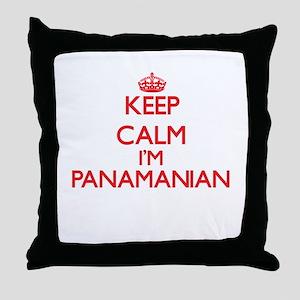 Keep Calm I'm Panamanian Throw Pillow