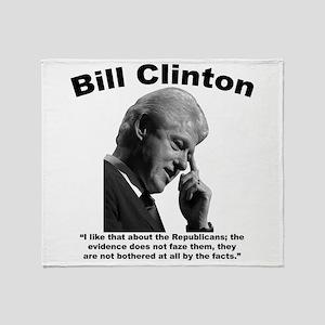 Clinton: Republicans Throw Blanket