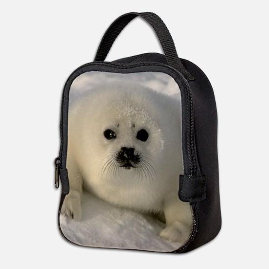 Baby Seal Neoprene Lunch Bag