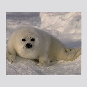 Baby Seal Throw Blanket