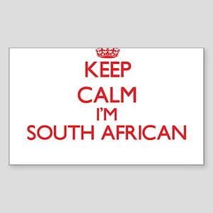 Keep Calm I'm South African Sticker