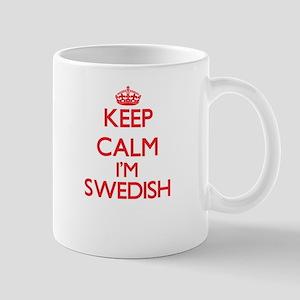 Keep Calm I'm Swedish Mugs