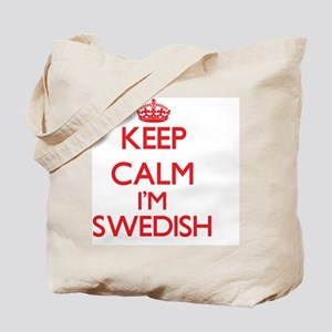 Keep Calm I'm Swedish Tote Bag