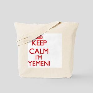 Keep Calm I'm Yemeni Tote Bag