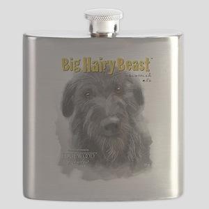 Big Hairy Beast label Flask