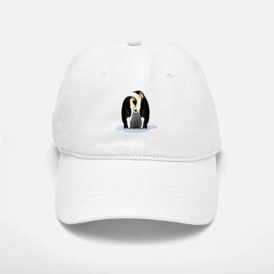 Penguin Family Baseball Baseball Cap