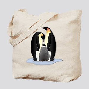 Penguin Family Tote Bag