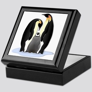 Penguin Family Keepsake Box
