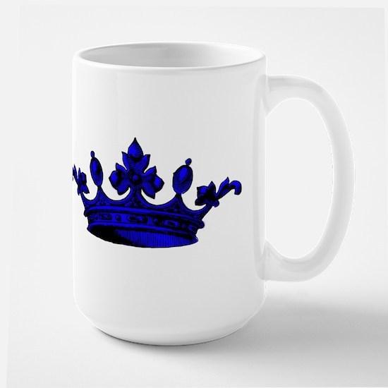 Crown Blue Black Mugs
