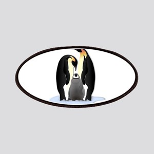Penguin Family Patches