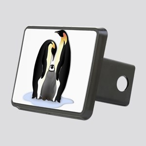 Penguin Family Rectangular Hitch Cover