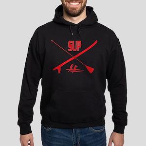 SUP Red Hoodie (dark)