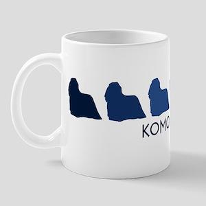 Komondor (blue color spectrum Mug