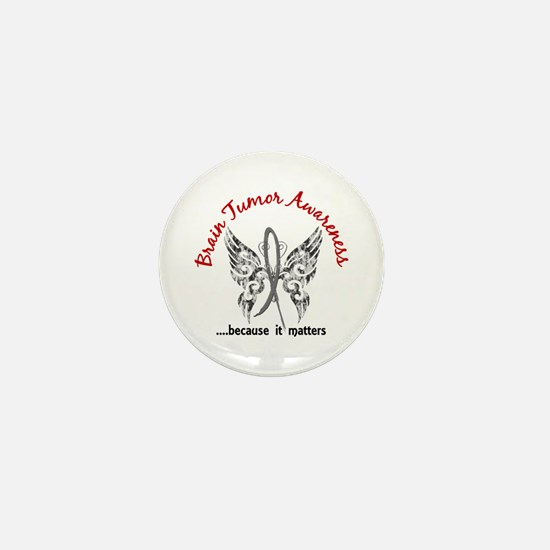 Brain Tumor Butterfly 6.1 Mini Button
