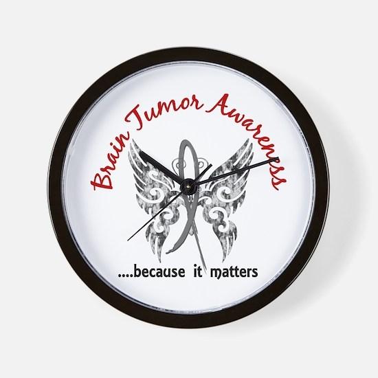 Brain Tumor Butterfly 6.1 Wall Clock