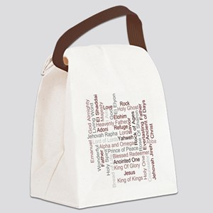 Name Of God Canvas Lunch Bag
