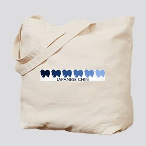Japanese Chin (blue color spe Tote Bag