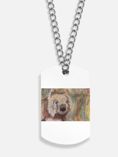 Wally Wombat Dog Tags