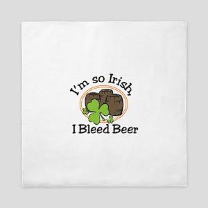 Irish Beer Queen Duvet