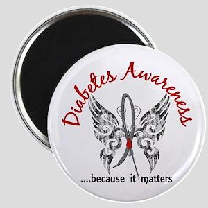 Diabetes Butterfly 6.1 Magnet