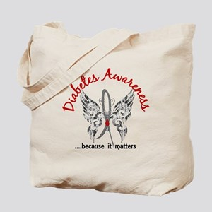 Diabetes Butterfly 6.1 Tote Bag