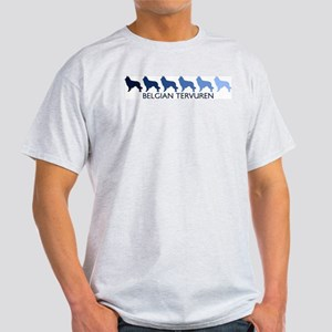 Belgian Tervuren (blue color  Light T-Shirt