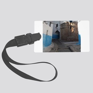 Kasbah des Oudaias, Rabat, Moroc Large Luggage Tag