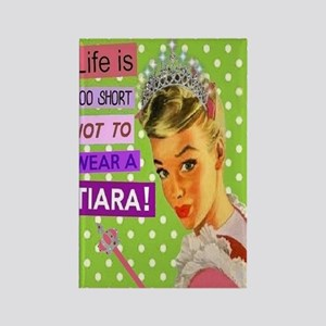 Tiara Rectangle Magnet Magnets