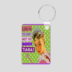 Tiara Aluminum Photo Keychain Keychains