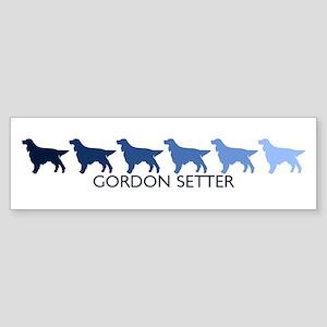 Gordon Setter (blue color spe Bumper Sticker