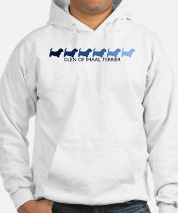 Glen Of Imaal Terrier (blue c Hoodie