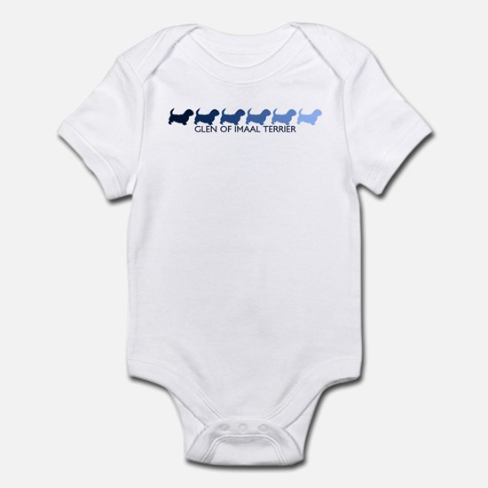 Glen Of Imaal Terrier (blue c Infant Bodysuit