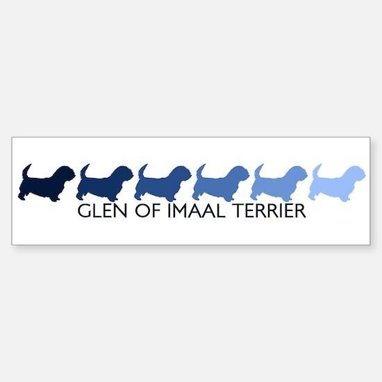 Glen Of Imaal Terrier (blue c Bumper Bumper Bumper Sticker