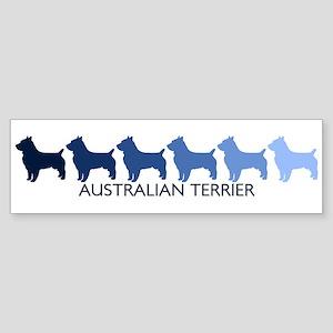 Australian Terrier (blue colo Bumper Sticker