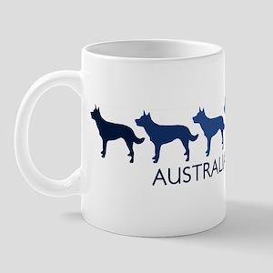 Australian Kelpie (blue color Mug