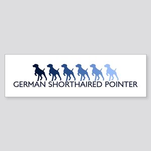 German Shorthaired Pointer (b Bumper Sticker