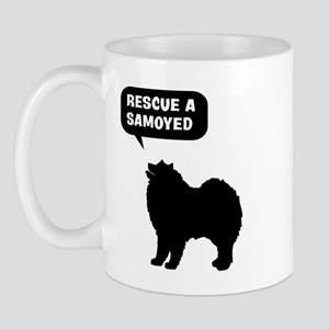 Rescue a Samoyed Mug