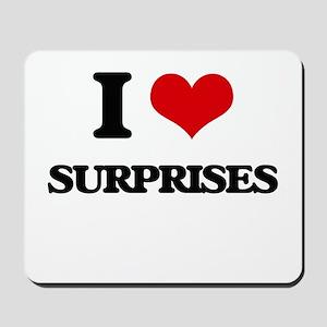 I love Surprises Mousepad