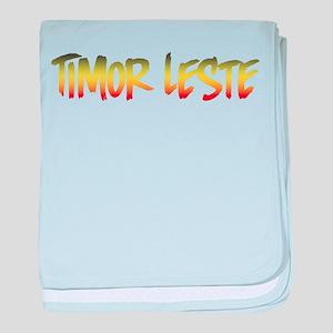 Timor Leste baby blanket