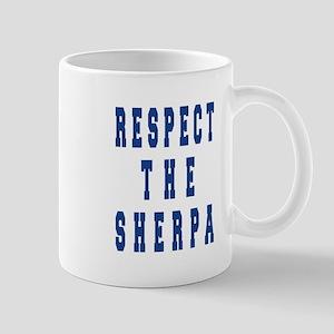 Respect the Sherpa Blue Mugs