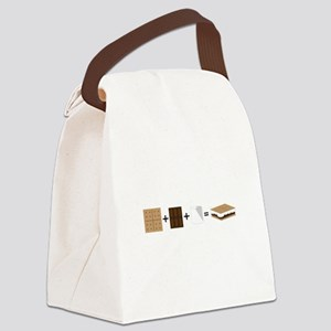 SMore Equation Canvas Lunch Bag