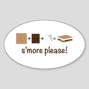 SMore Please Sticker